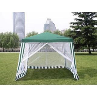 Прокат шатра (дачный павильон) с сетками