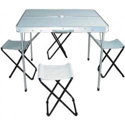 Прокат комплекта стол+4 стула Sol